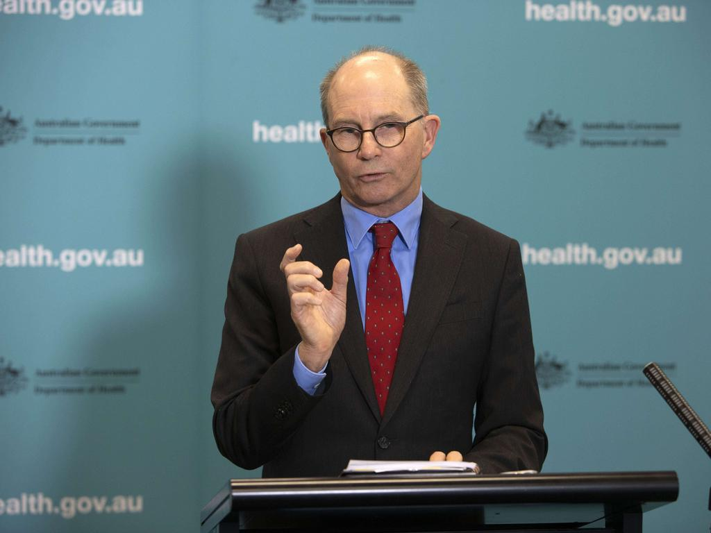Chief medical officer Paul Kelly has revoked a hot-spot listing for Sydney's northern beaches. Picture: NCA NewsWire / Gary Ramage