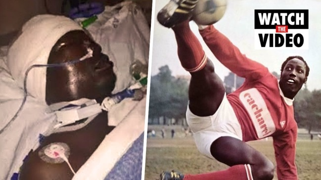 Jean Pierre Adams: Football star still in coma 39 years after operation gone wrong