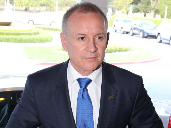 South Australian Premier Jay Weatherill arrives for the COAG meeting. Picture: Ray Strange.