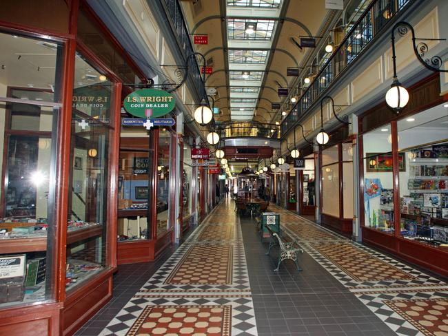 Cluney is not the only ghost believed to walk the halls of Adelaide Arcade.