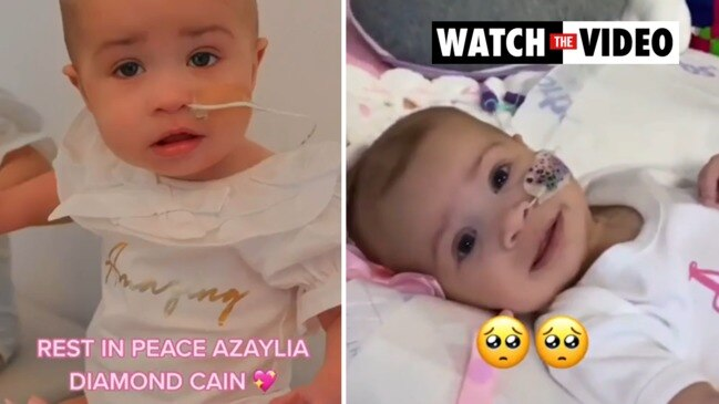Emotional tribute to Ashley Cain's baby daughter Azaylia