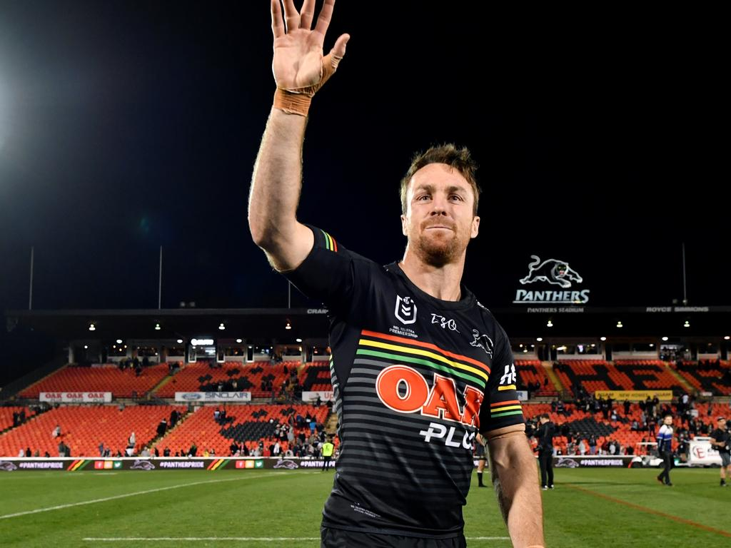 James Maloney announced he will retire at the end of the 2021 Super League season. Picture: Joel Carrett / AAP