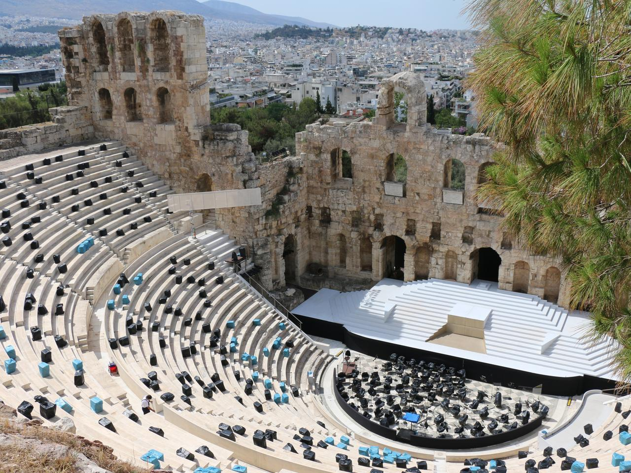 Is the attraction worth it? The Acropolis in Athens is. Picture: Georgina Auton.