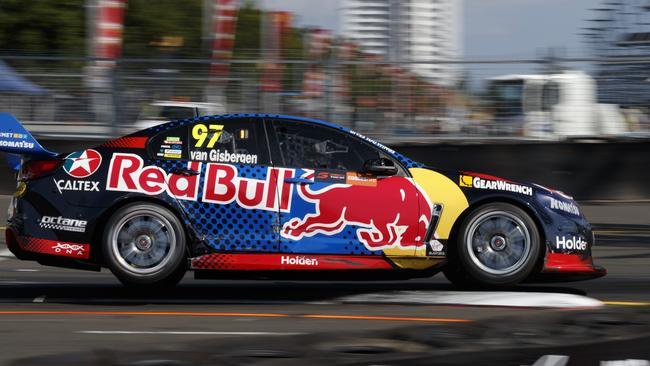 Shane van Gisbergen topped qualifying for Race 29 at the Sydney 500.