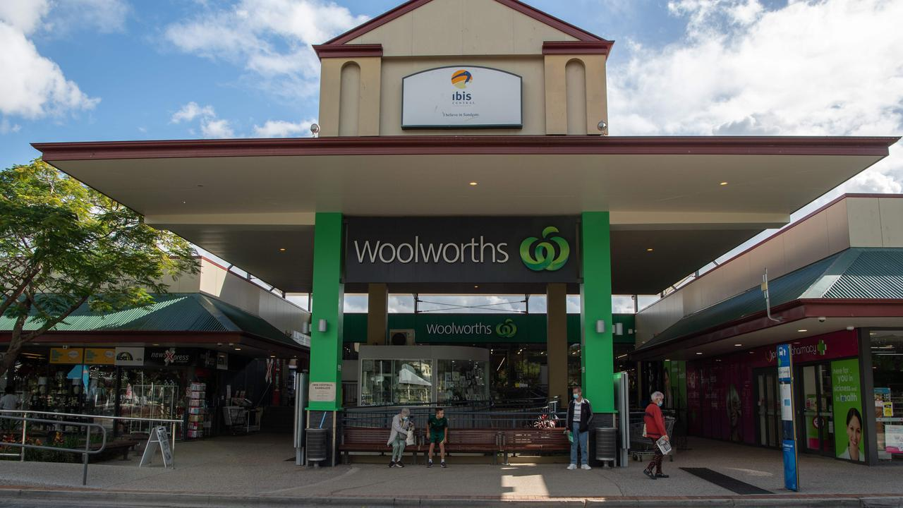 Woolworths on Bowser Parade, Sandgate, was visited by the Delta-infected person on July 20. Picture: Brad Fleet