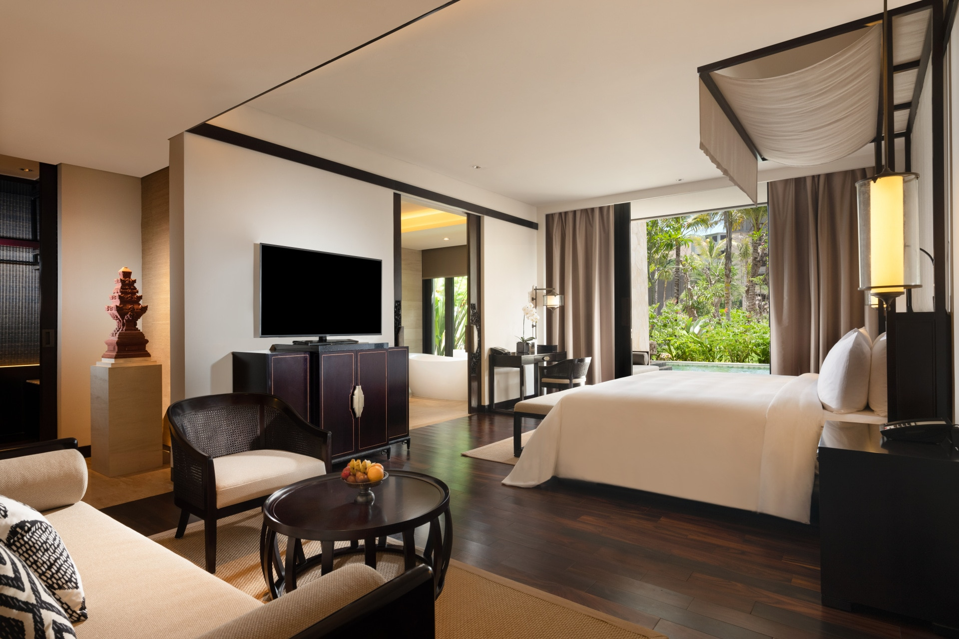 Bali's grandest new hotel is a lesson in Indonesian opulence