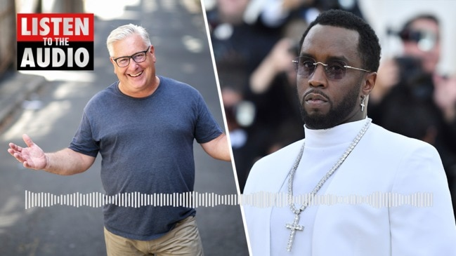P Diddy refused to leave Sydney airport because his limo was white