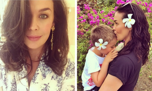 Megan Gale helps a struggling Aussie mum get a Christmas miracle