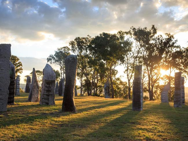 10. FEEL THE STONES Not just for Outlander fans, walk through our very own stone circle at the Australian Standing Stones in Glen Innes. Picture: Destination NSW