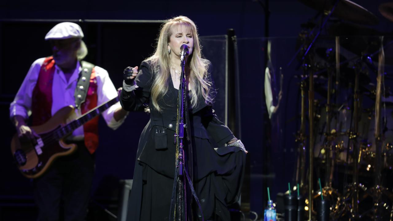 Stevie Nicks provided some of the night's most intimate moments. Picture: Christian Gilles