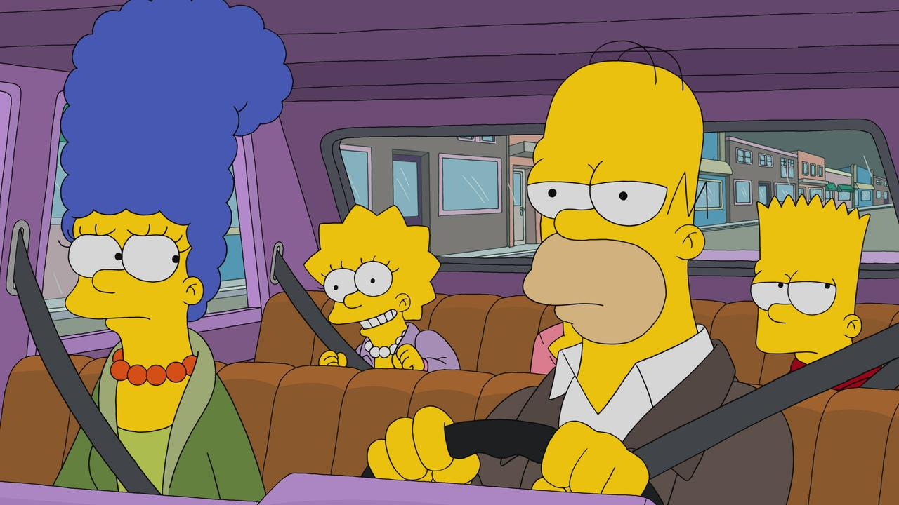 The Simpsons airs on 7Flix in Australia.