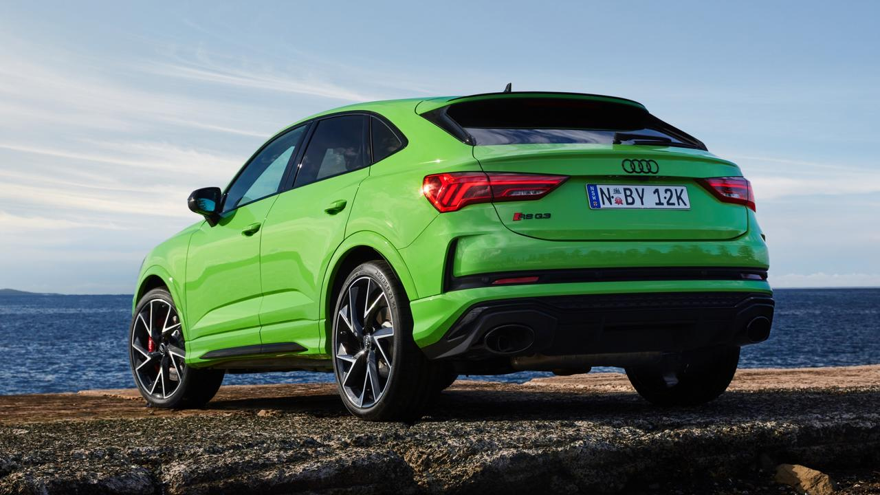 Audi has dialled up the fun factor in its new RS Q3.