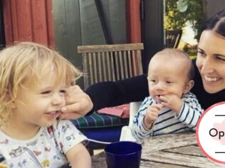 Thank you for keeping life so normal for my boys. Image: Instagram @elizacracknell
