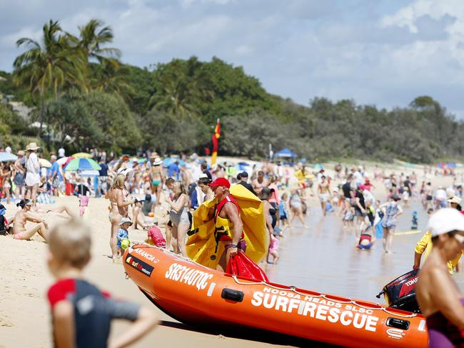 Noosa, which has been named most popular in Qld for third year in a row. Pic Megan Slade
