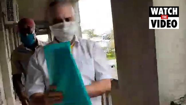 John Nikolic appearing at Fiji court