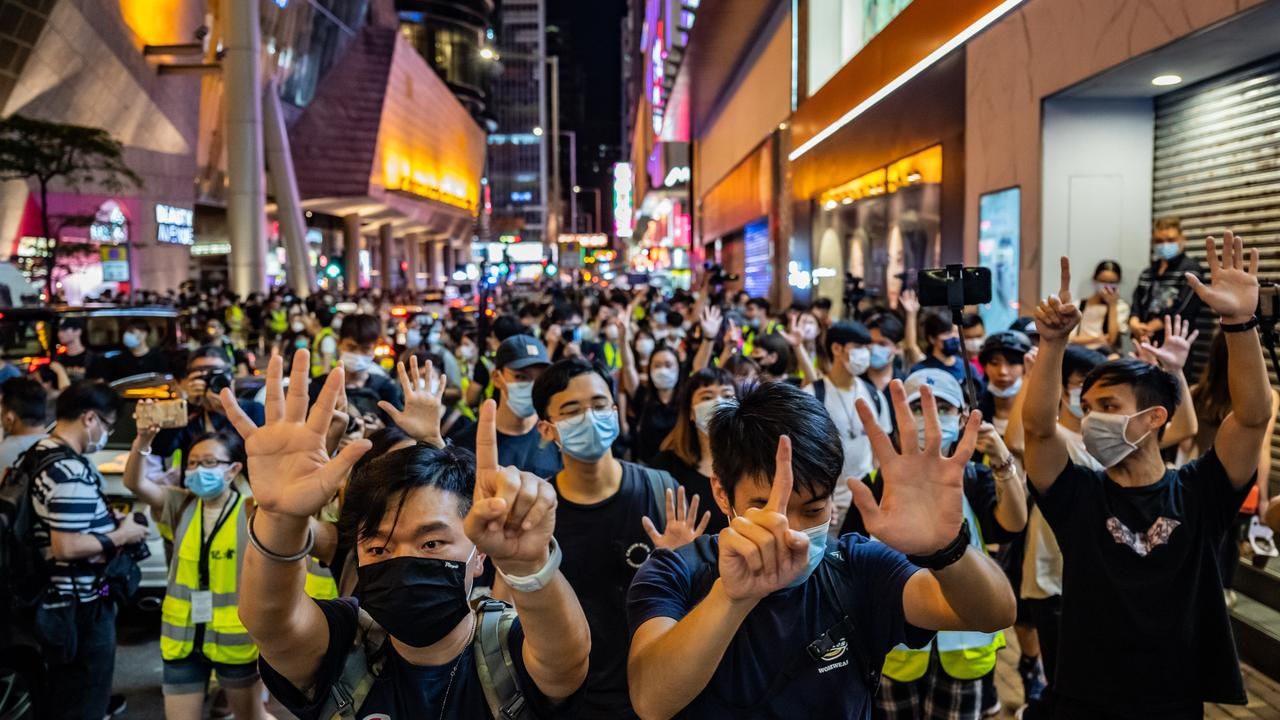 The continued unrest in Hong Kong has led many locals to look overseas for their next home. Picture: Getty