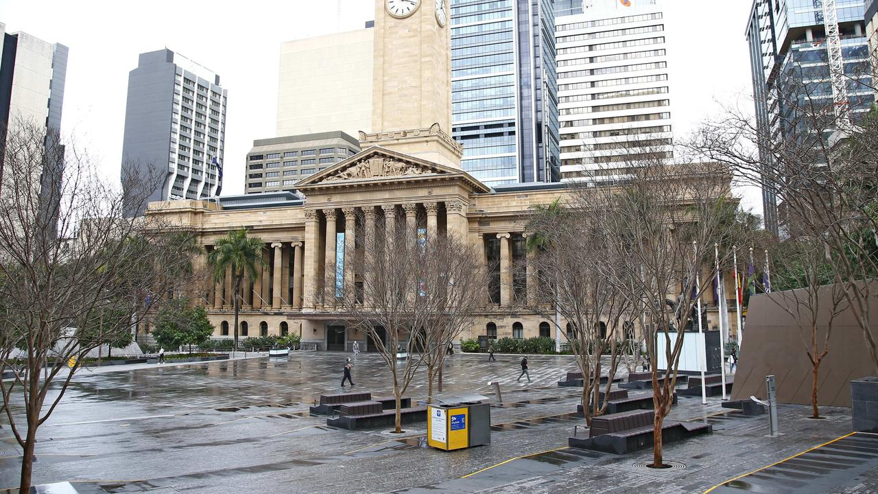 The major city has once again been plunged into lockdown. Picture: NCA NewsWire/Tertius Pickard