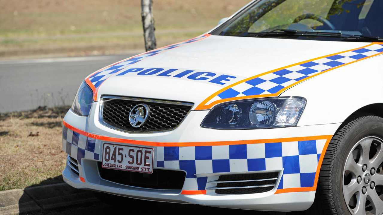 COP STOP: Police have taken a driver into custody. Picture: Alistair Brightman
