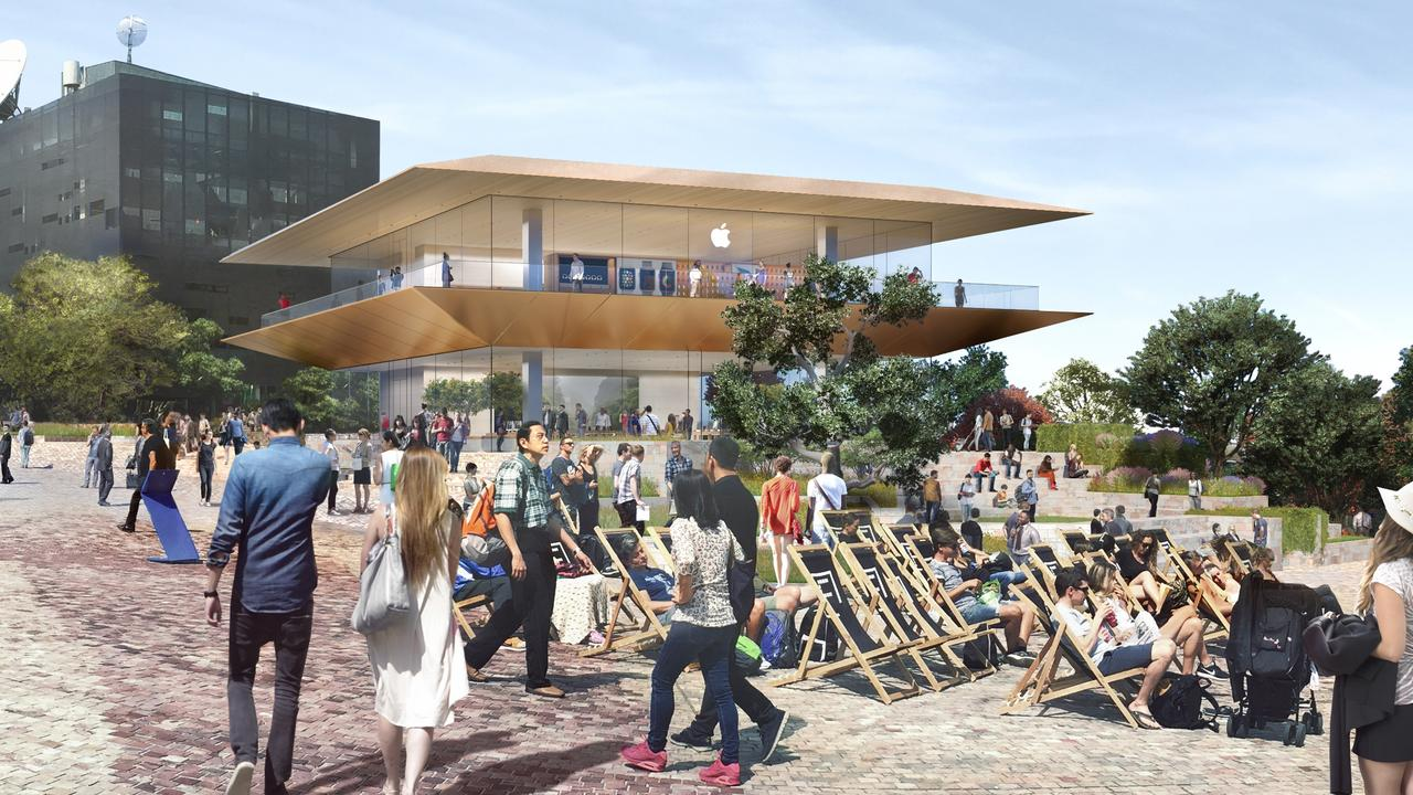 Apple had plans to build a new flagship store in Melbourne's Federation Square by 2020. But the proposal is controversial.