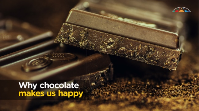 Why chocolate makes us happy