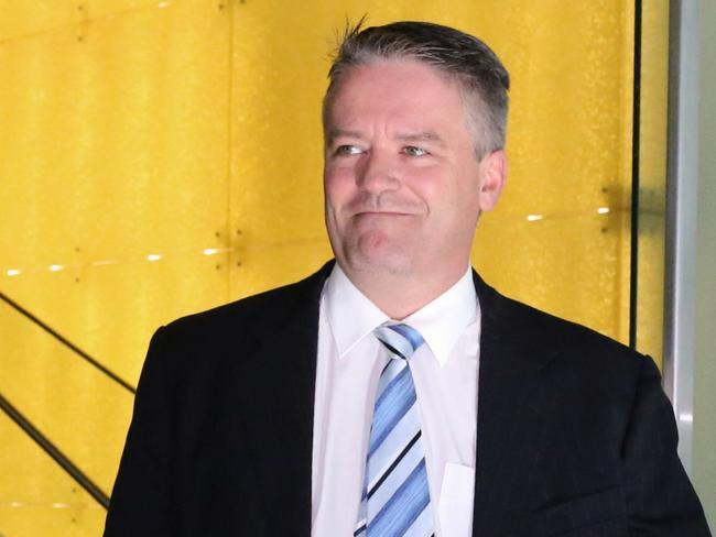 Finance Minister Mathias Cormann is backing Mr Abbott.