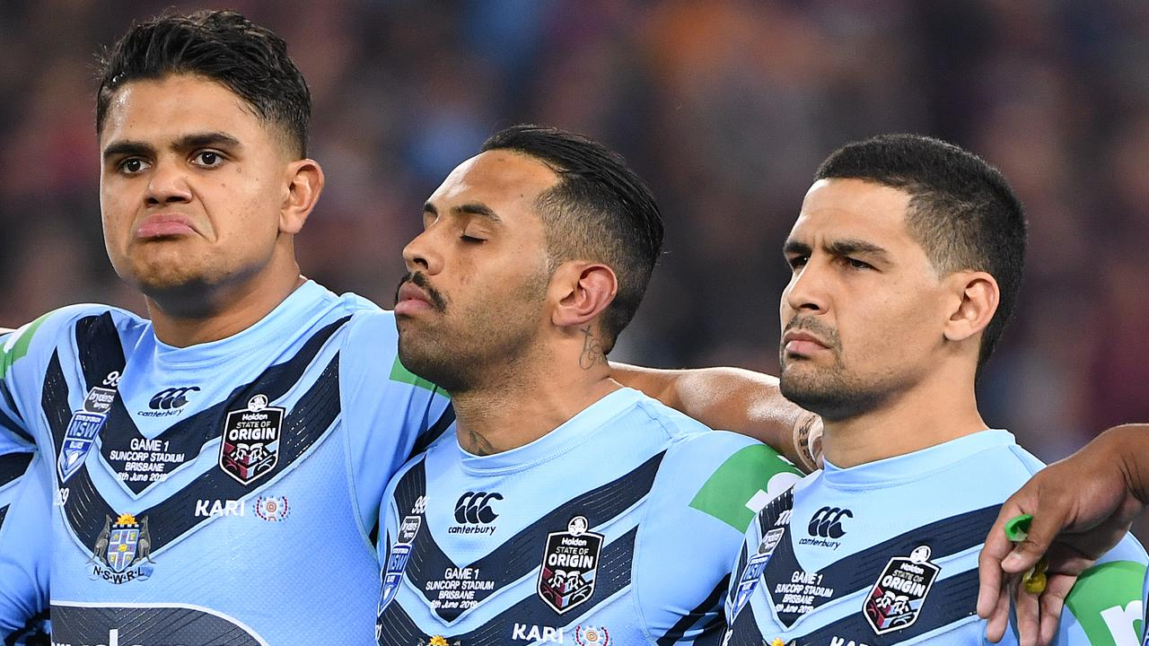 Latrell Mitchell's explosive Origin anthem allegations were deleted. This is why