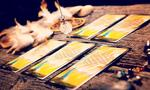 """TAROT. Love a good psychic reading with tarot cards? Bet you never thought to use that word as a name for your boy. If you do go there, be aware: it's a French word pronounced """"ta-row"""", not """"ta-rut"""" like """"carrot"""".<p><a href=""""https://www.istockphoto.com"""">Credit: iStock.</a></p>"""