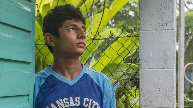 Asylum seeker Lockman Sawari was just seventeen years old when he was first detained after being sent by his parents to seek a better life. Picture: Brian Cassey