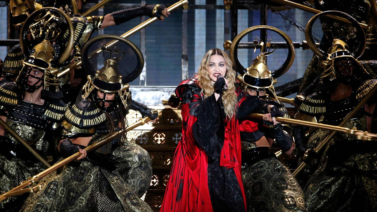 Madonna previously said she'd contracted coronavirus towards the end of her Madame X tour in March. Picture: Francois Guillot/AFP