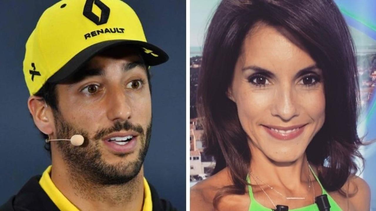 Romain Grosjean's wife is backing Daniel Ricciardo.