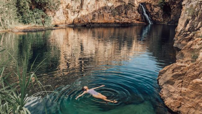 71/71Maguk, Kakadu National Park - Northern Territory A secret natural spot of great beauty, the Maguk natural pool and waterfall in Kakadu National Park is accessible by 4WD and rainforest walk only.Picture: Tourism NT/ Adriana Alvarado See also: - 13 incredible spots that exist in Australia - 19 best secluded beaches in Australia