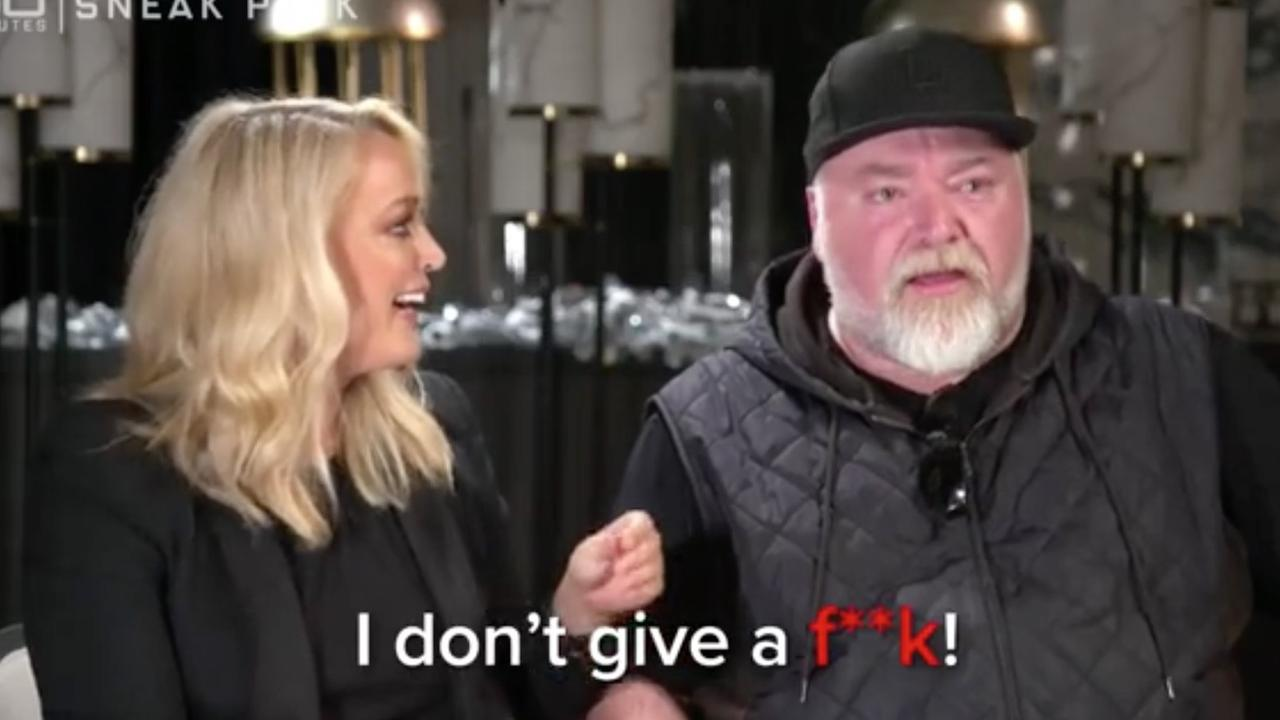 Remember that time Kyle Sandilands implied he was dying but it turned out to be a joke? Hilarious. Picture: 60 Minutes/Channel 9