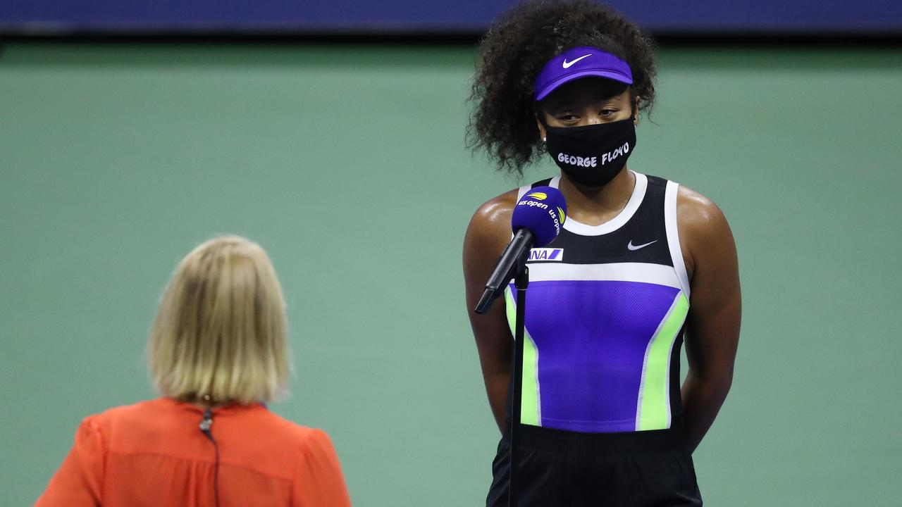 Naomi Osaka is taking a stand against racial injustice.