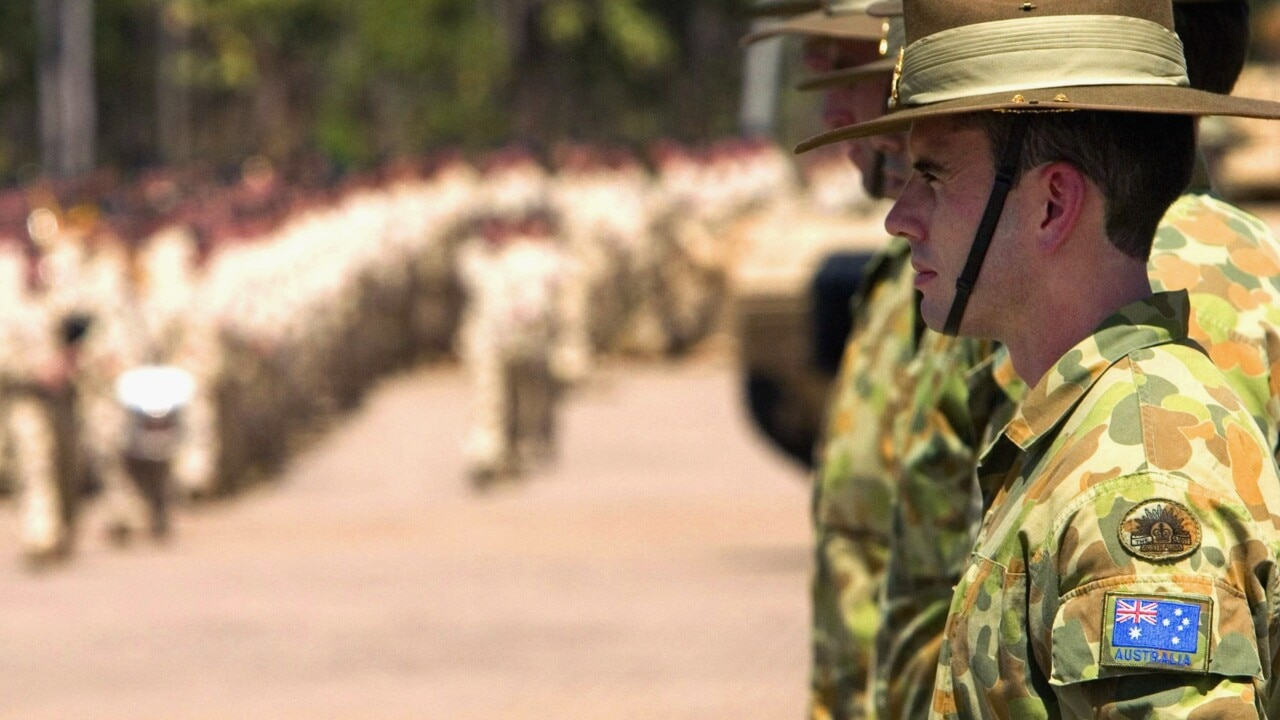 Australia entering post-COVID 2020 where citizens must remain nested with ADF