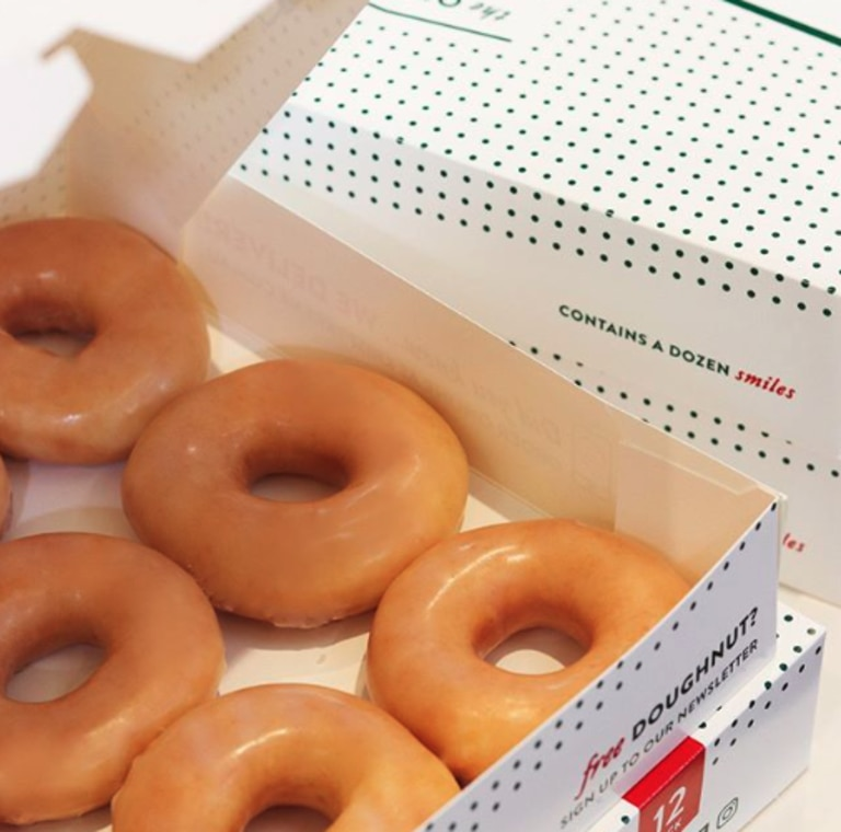 Krispy Kreme are giving away doughnuts if you celebrated your birthday in iso.