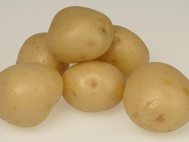 Potatoes should be stored in paper bags.