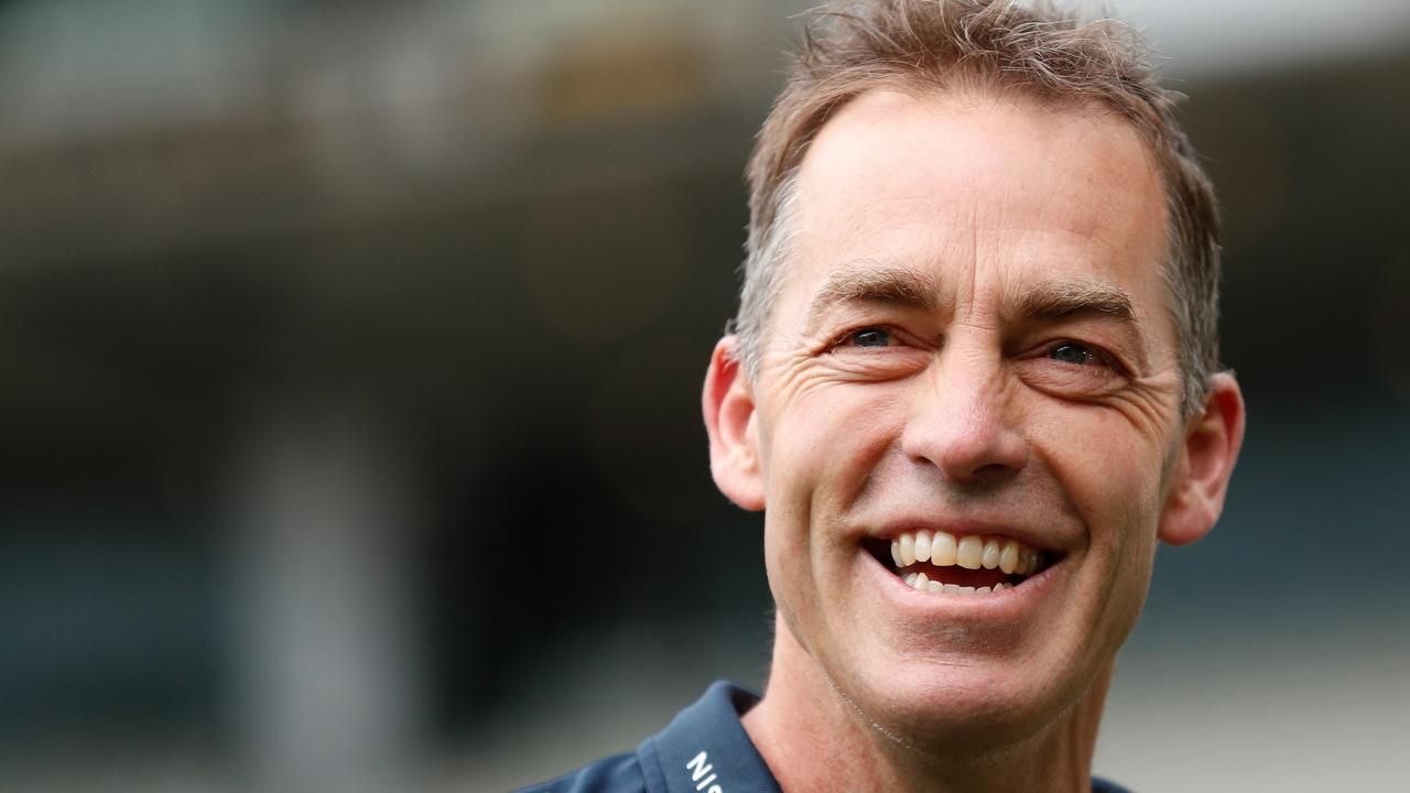 Former Hawthorn coach Alastair Clarkson (Photo by Michael Willson/AFL Photos via Getty Images)