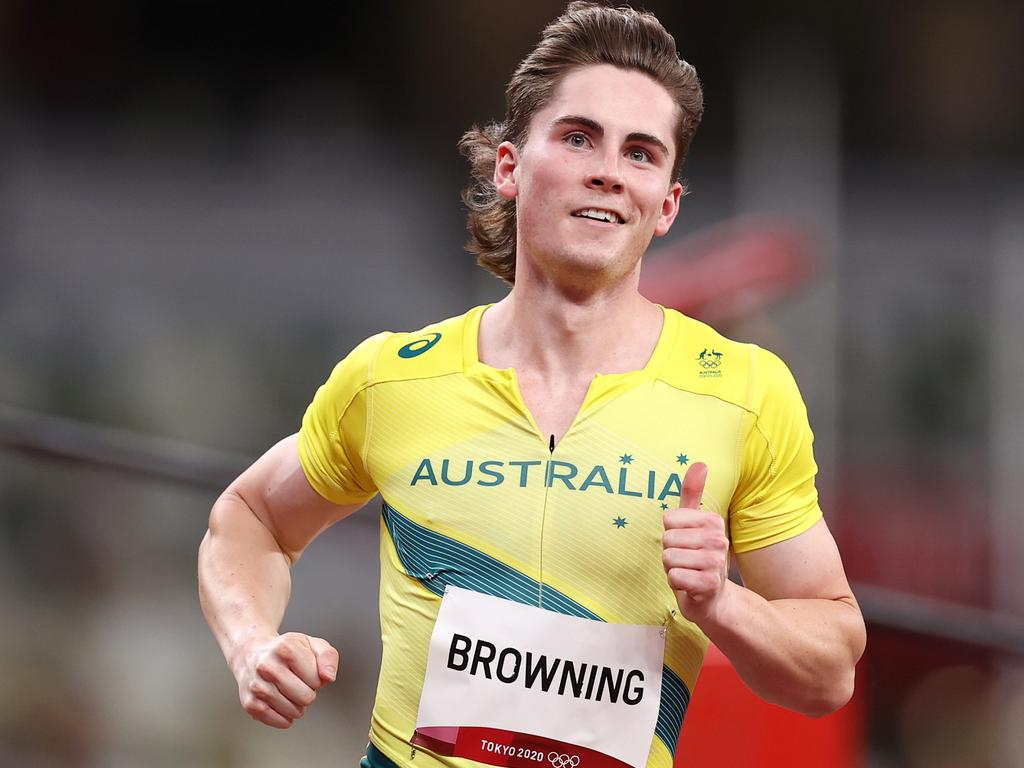 Browning is making his mark in Tokyo. (Photo by Cameron Spencer/Getty Images)