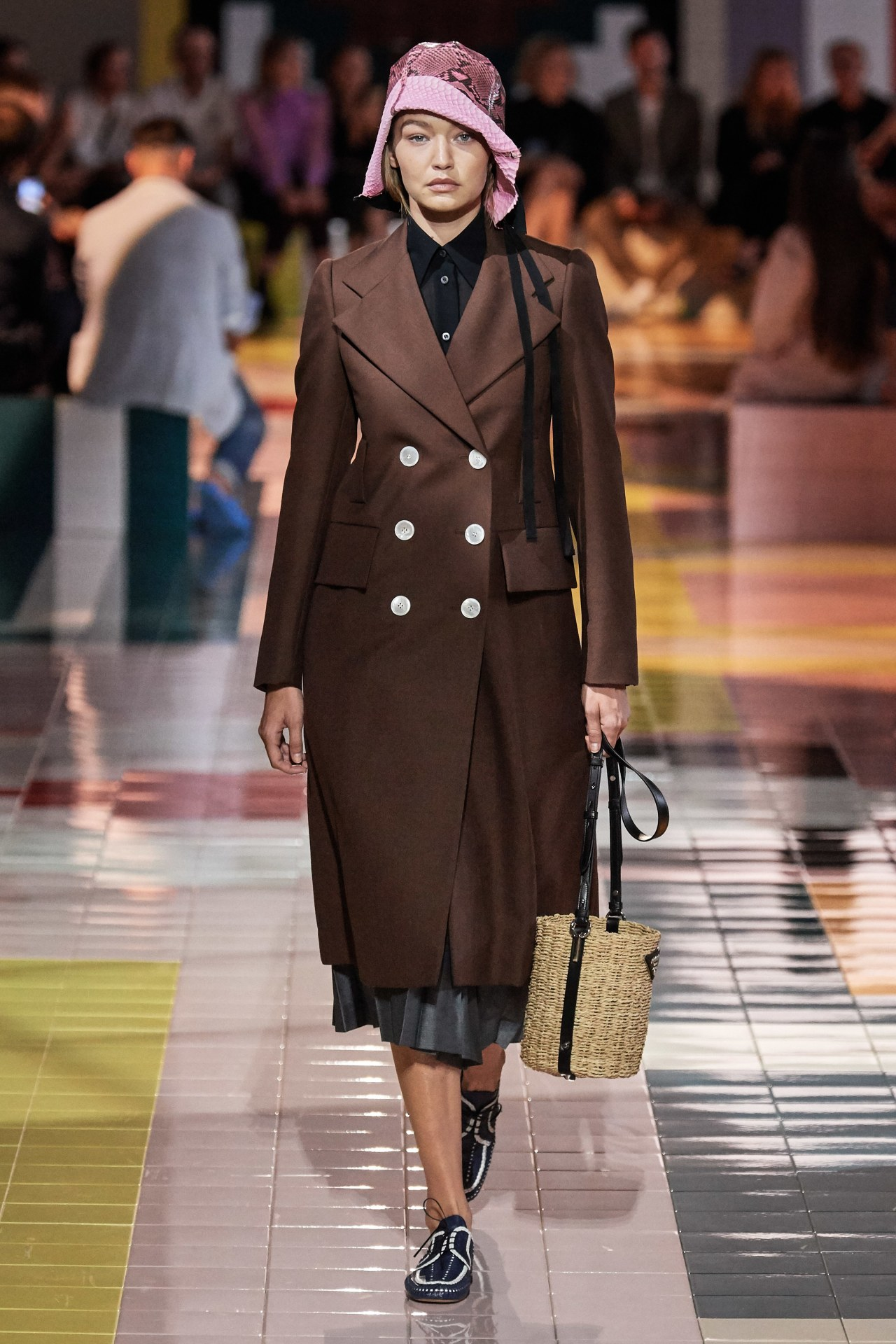 Prada ready-to-wear spring/summer 2020. Image credit: GoRunway.com