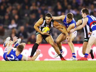 AFL Rd 10 - Collingwood v Western Bulldogs