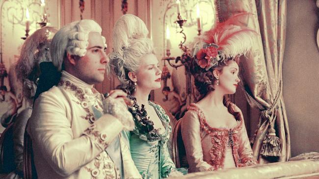 Jason Schwartzman, Kirsten Dunst and Rose Byrne 'Marie Antoinette'.