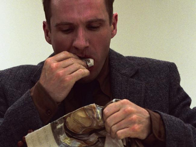 2002 Ralph Fiennes as Francis Dolarhyde in film Red Dragon.