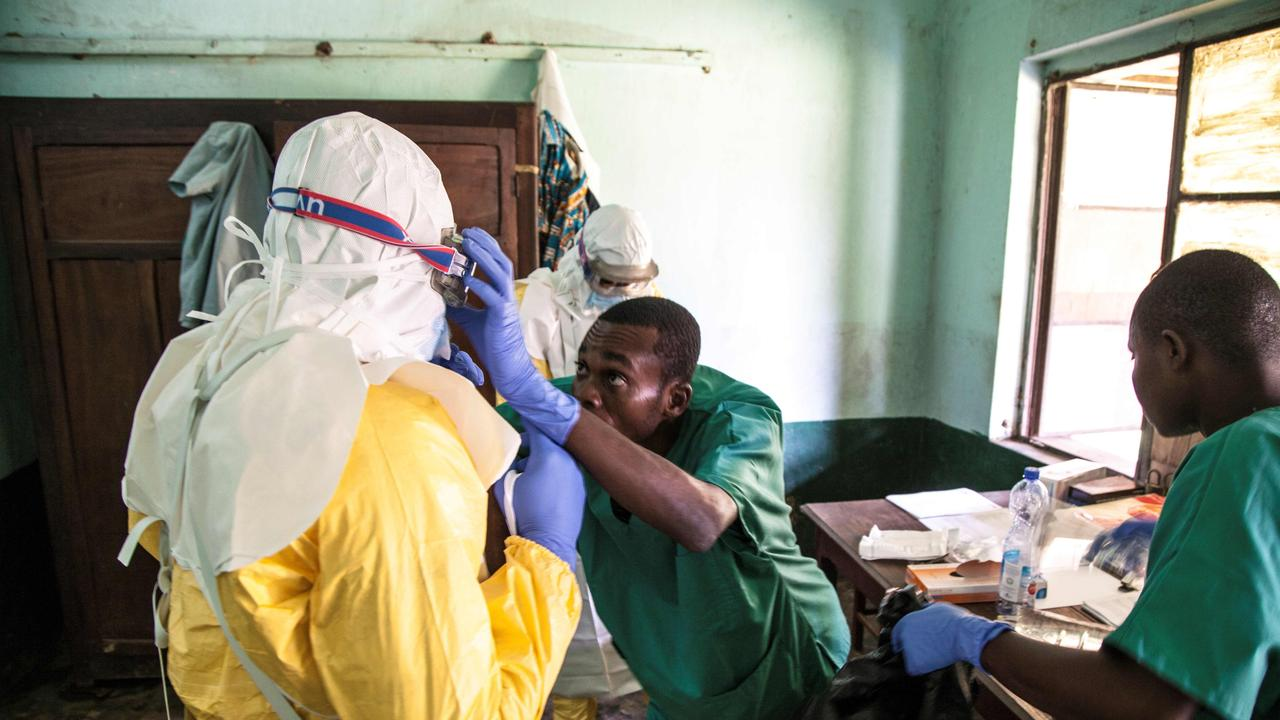 The two-year-long outbreak of ebola killed more than 2200 people. Picture: AFP