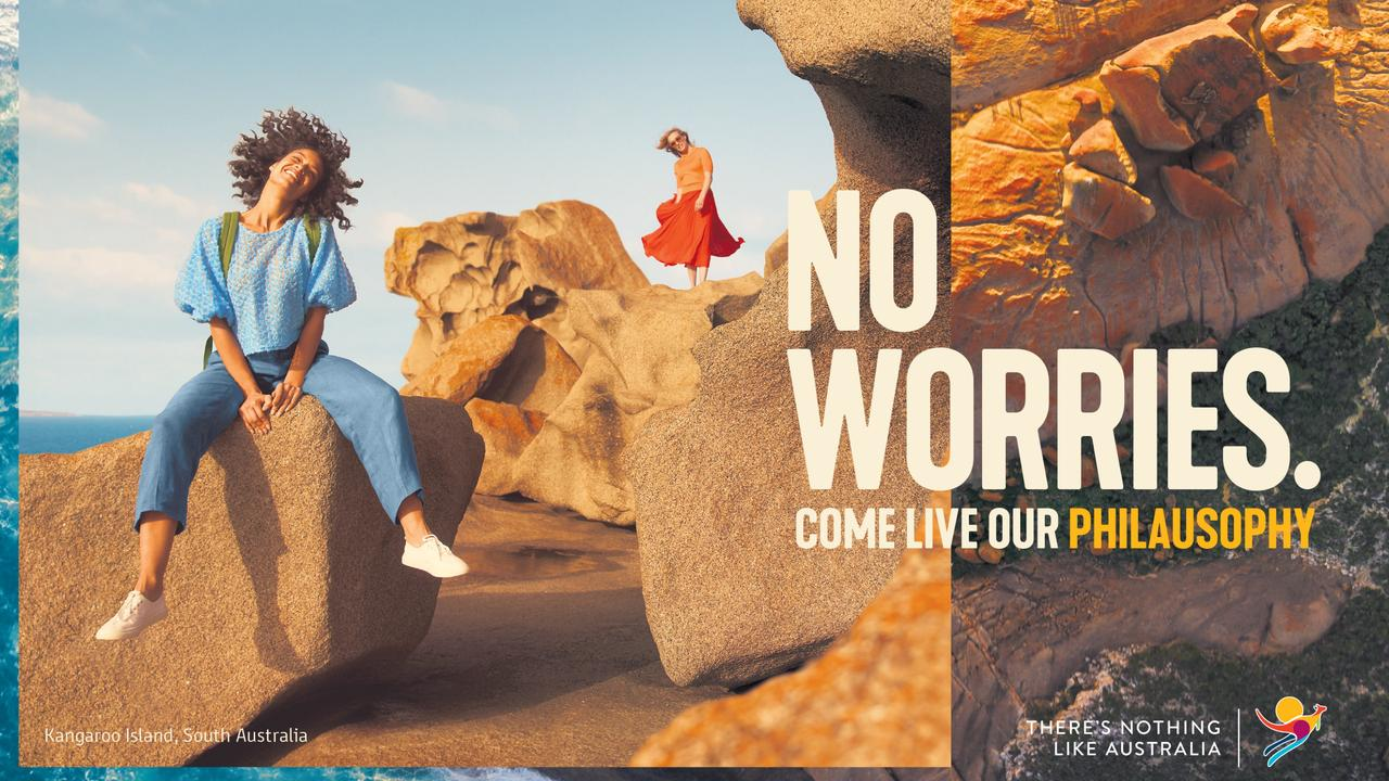 'No worries' is one of the nine core philosophies or 'philausophies' (the 'aus' is intentional). Picture: Tourism Australia
