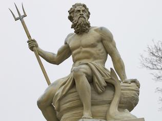 Statue of Poseidon, Greek god of the sea Picture: Thinkstock Supplied /