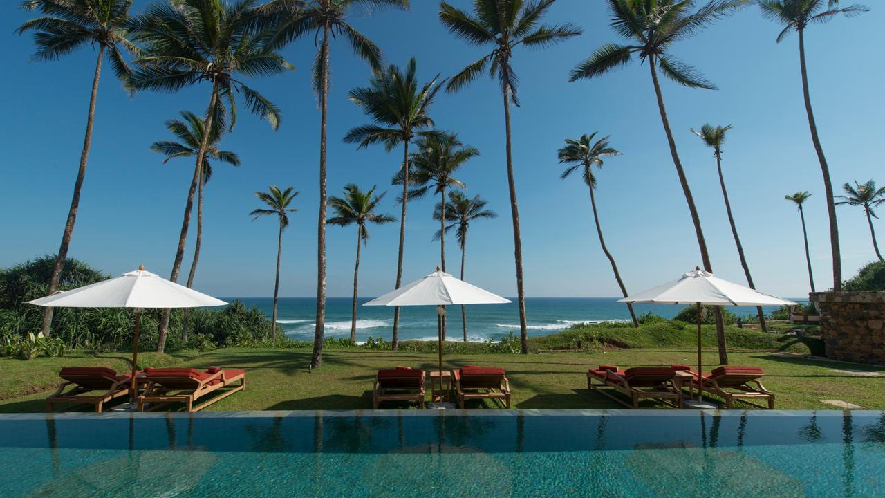 Sri Lankan boutique resort Cape Weligama. Picture: Sebastian Posingis / Resplendent Ceylon