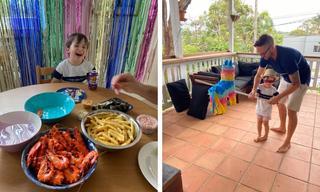 How we're celebrating birthdays in isolation