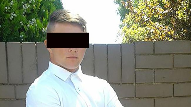 Casey Tennent, 21, pleaded guilty to assaulting a pregnant woman, in her third trimester, while she rode home from work. Picture: Supplied.