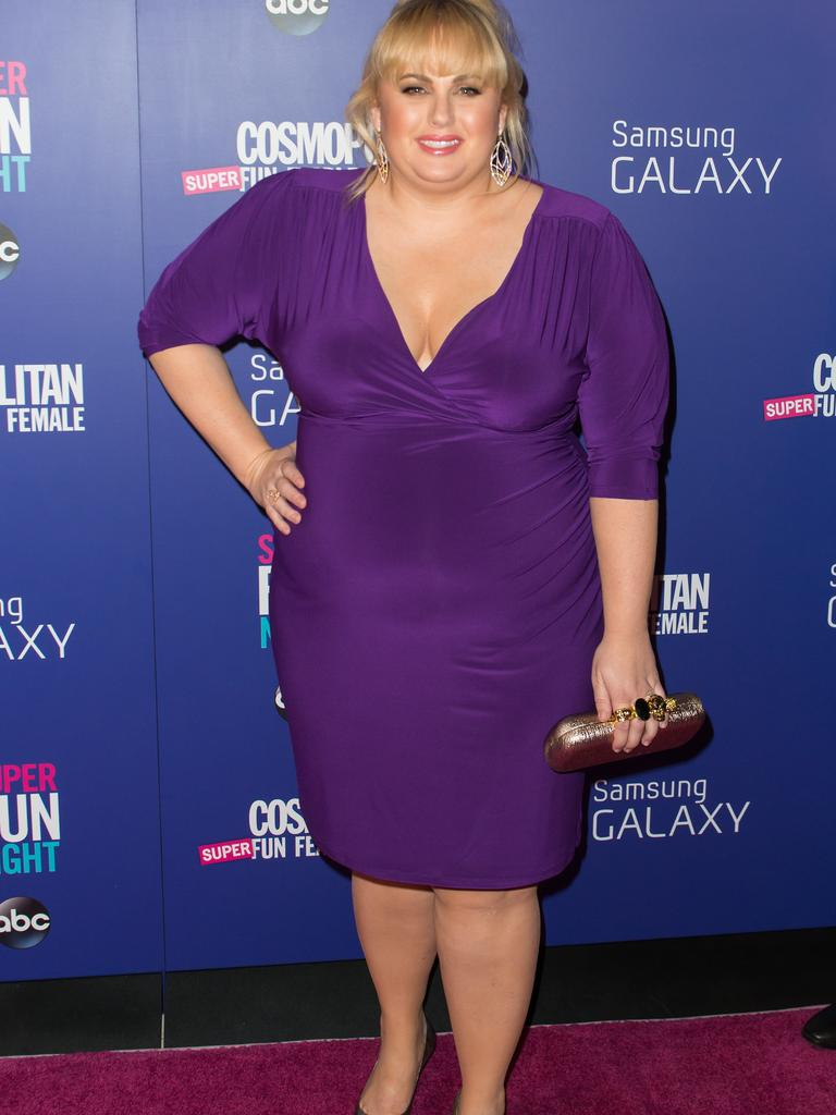 Rebel Wilson before her weight loss. Picture: Michael Stewart/WireImage