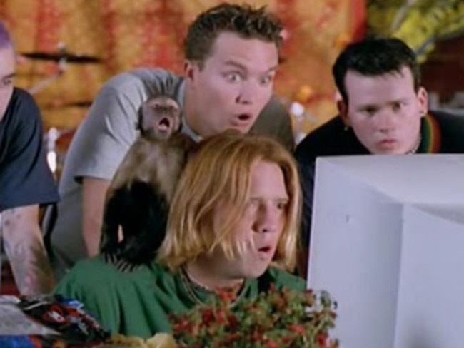 Recognise those lads? It's Blink 182.